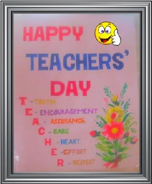 Happy Teachers Day Quotes With Images Teachers Day Card Happy