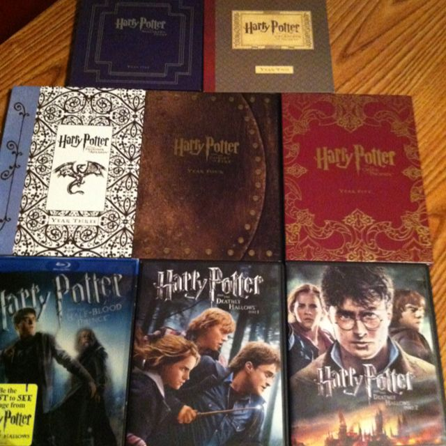 Harry Potter 1-7 Thanks Tita.