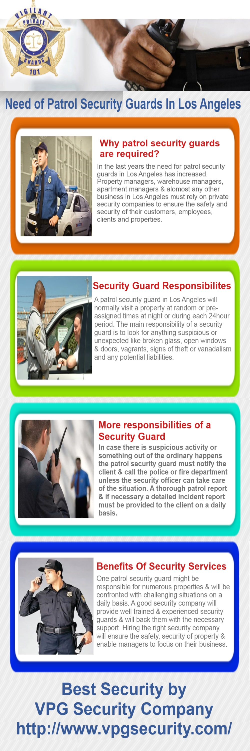 We All Know The Need And Requirement Of Patrol Security Guards In