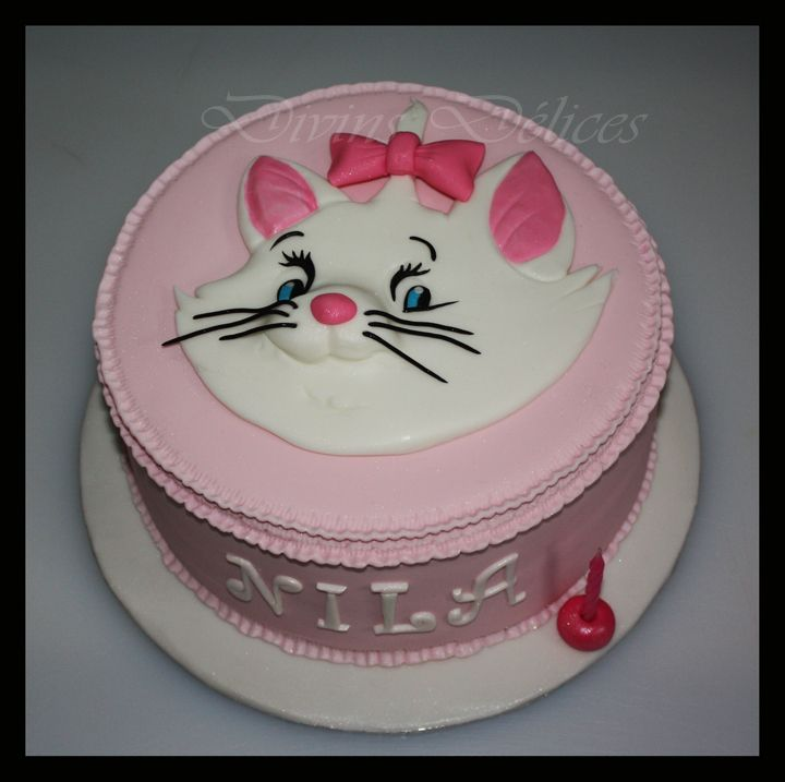 cake marie dans les aristochats - Aristochats Marie