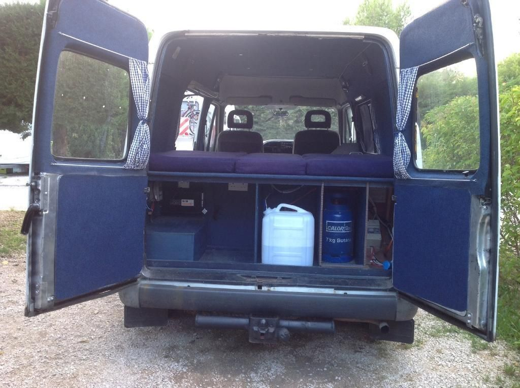 Ford Transit Camper Conversion Kit - intoAutos.com - Image ...