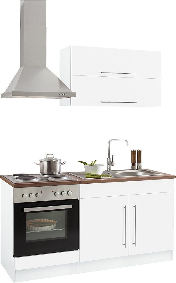 Held Möbel Küchenzeile Mit E-Geräten »Samos«, Breite 160 Cm Jetzt