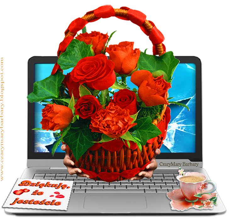 5 Wedding Bouquet Etiquette Questions You Need To Read: Dziękuję-ze-jesteście,-kosz-pięknych-róż-dla-przyjaciół