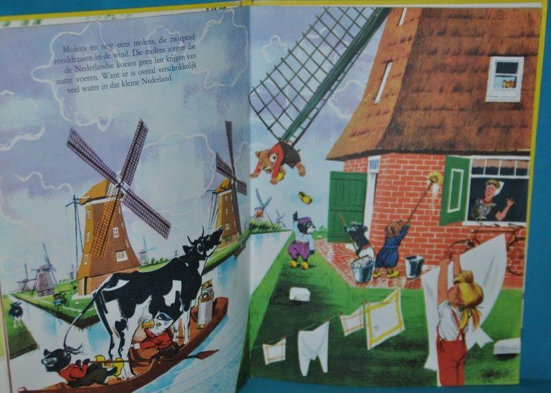 carolien op vakantie kinderboek childrens book 1968 GRATIS VERZENDEN