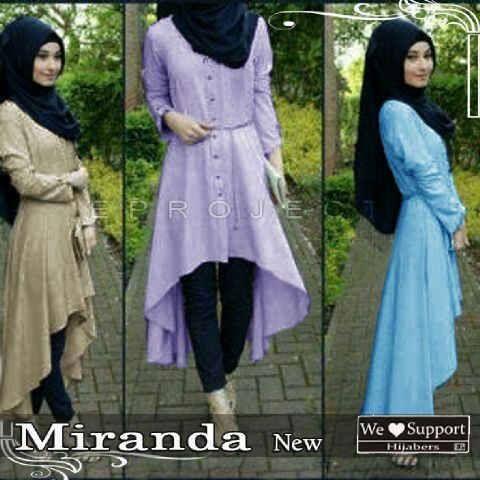 Baju Muslim Remaja Modern Miranda Gamis Kaoskeren Net Fashion