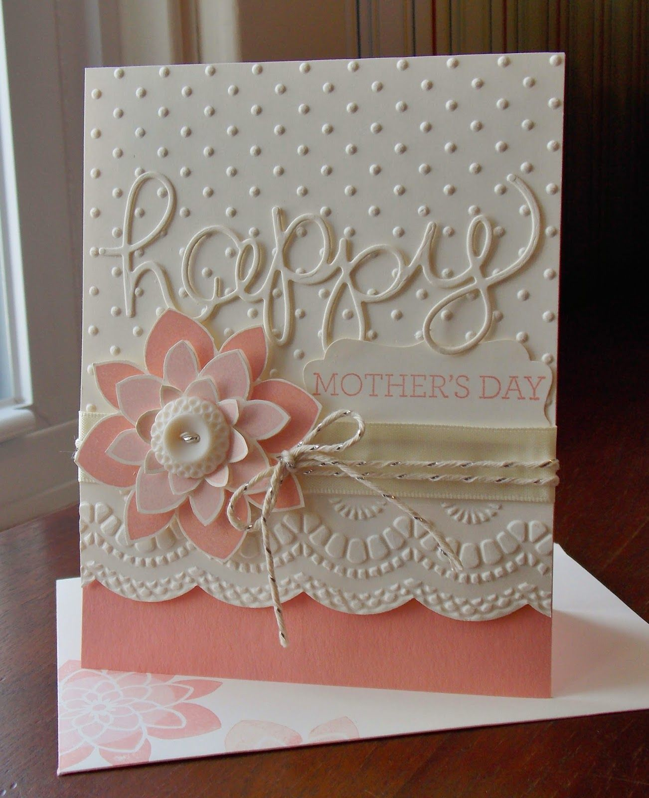 Stampin' Up! Crazy About You Mother's Day Card Laura's
