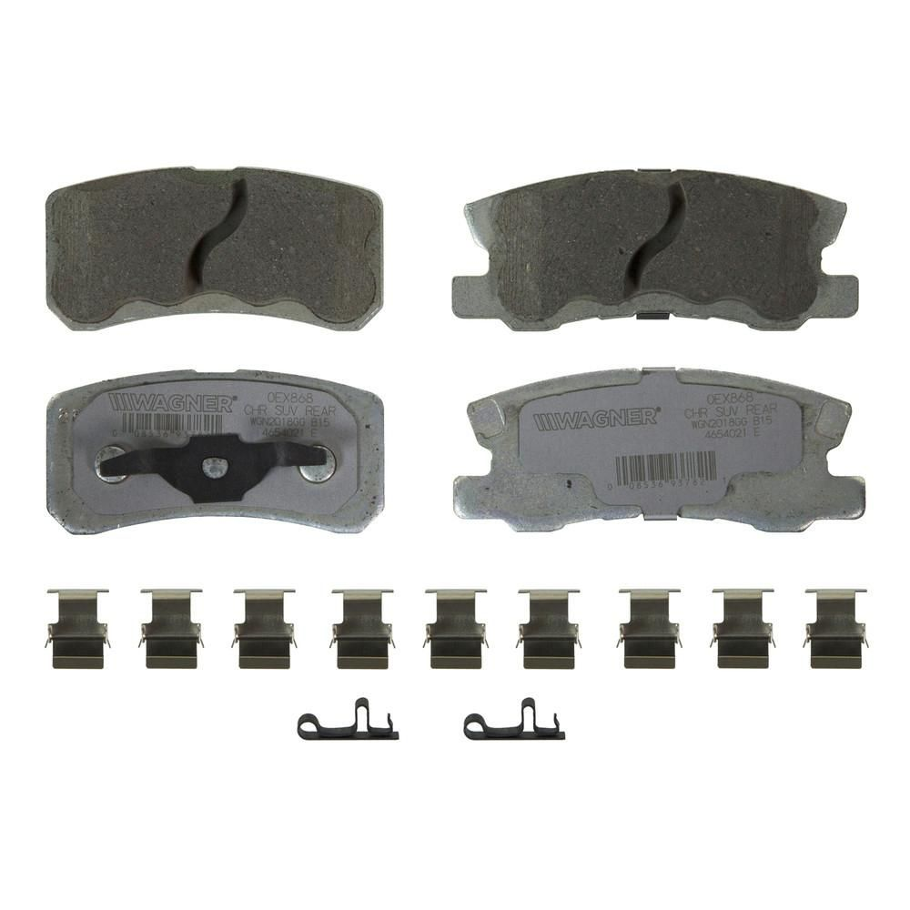 OEX Disc Brake Pad - Rear in 2019 | Products | Brake parts