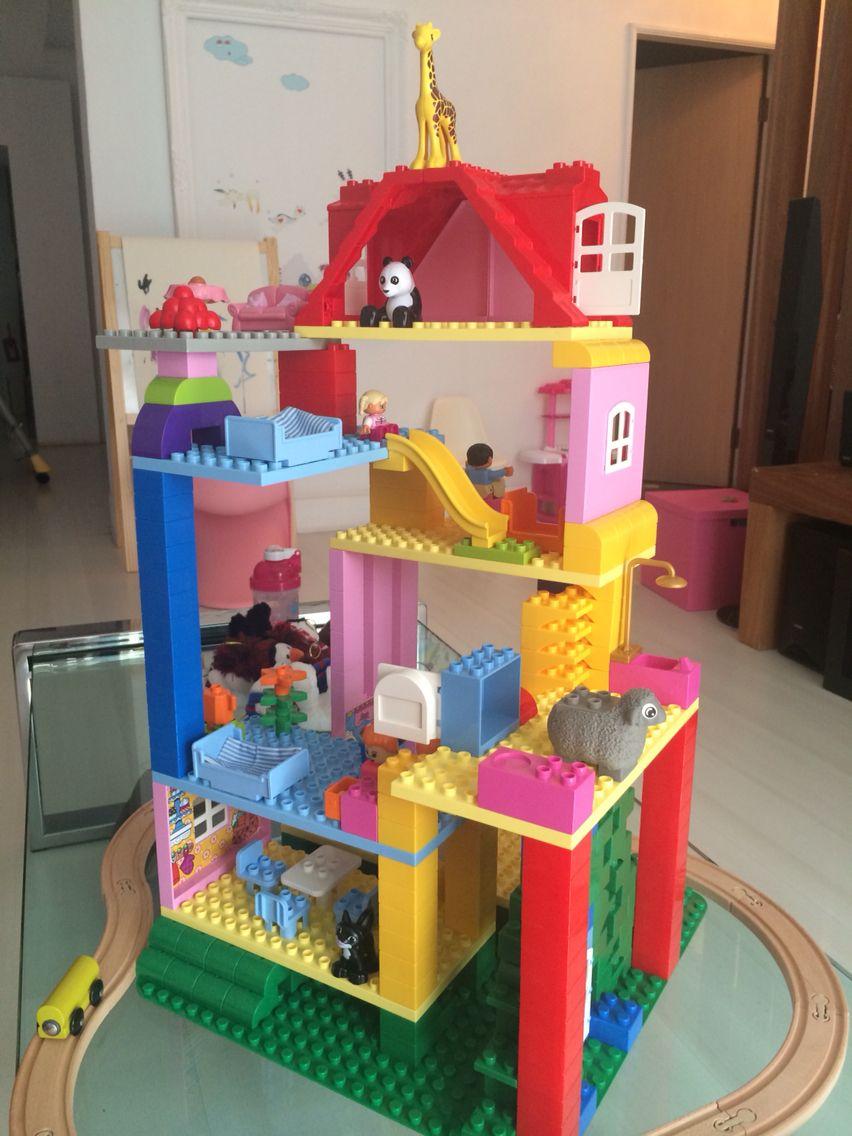 duplo house lego duplo ideas pinterest lego lego ideen und spielen. Black Bedroom Furniture Sets. Home Design Ideas