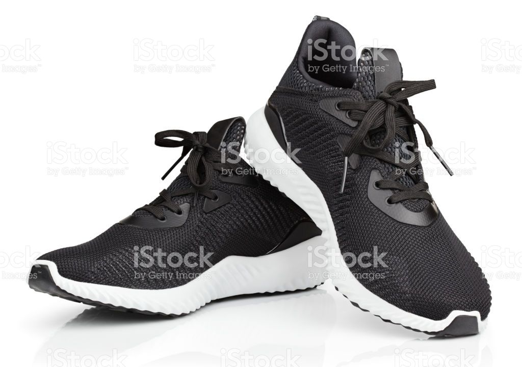 Download Pair Of New Unbranded Black Sport Running Shoes Or Sneakers Isolated Running Sport Shoes Running Shoes Sneakers Sneakers