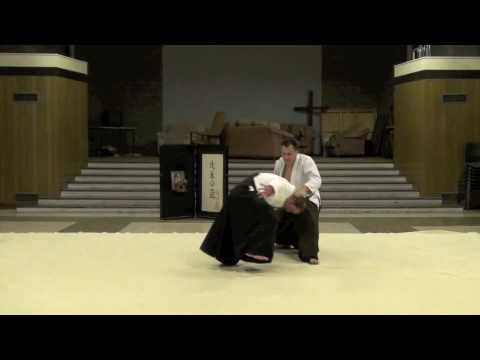 Uchi Kaiten Nage (Katate Dori - Aikido Beginners Level) - YouTube