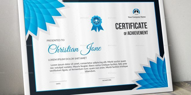 A Great Creative Certificate Template For Creative Person Features