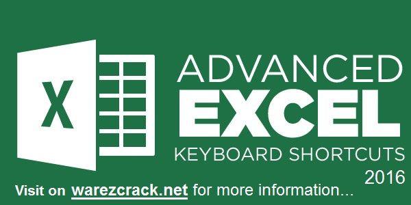 Advanced Excel Keyboard Shortcuts PDF 2016 Free Download. Use Excel Keyboard…