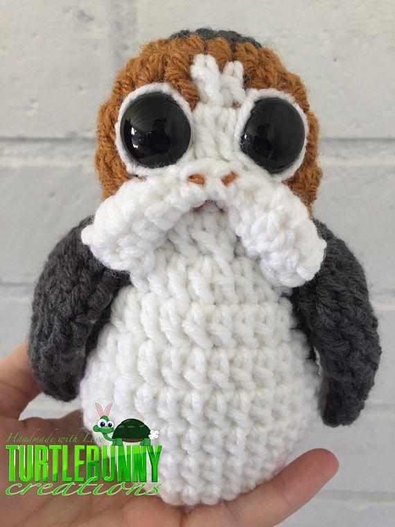Porg Pop Culture Inspired Nerd Crochet | Las galaxias, Galaxias y ...