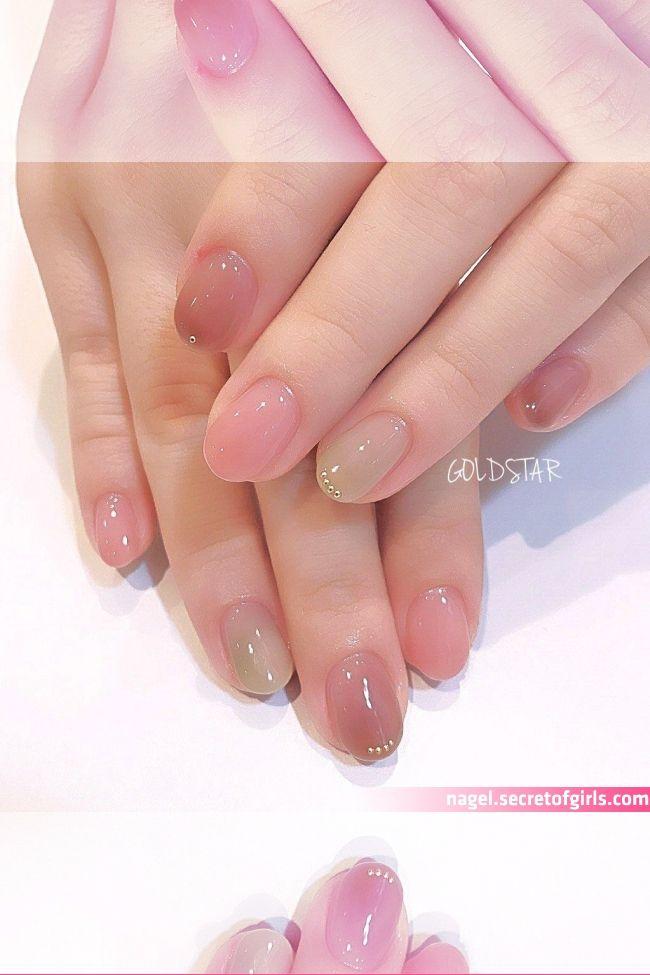 オールシーズン/オフィス/デート/女子会/ハンド - agloss nailのネイルデザイン[No.2784439] ネイルブック   Nails, Minimalist nails, Pink nails    #ジェルネイル #ニュアンス #うるつやネイル #オールシーズン #オフィス #大人ネイル #成人式 #デート #大人可愛い #ブラウン #ピンク ネイルデザインを探すならネイル数No.1のネイルブック