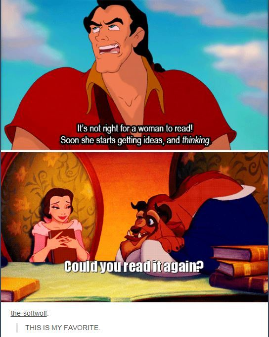 Beauty and the Beast gets it right.