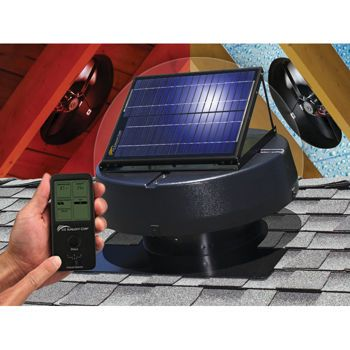 Costco Professional Series Solar Powered Attic Fan With Solar