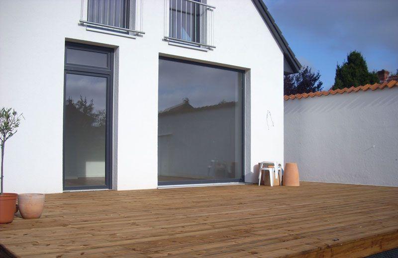 Kernsanierung Haus kernsanierung einfamilienhaus terrasse haus