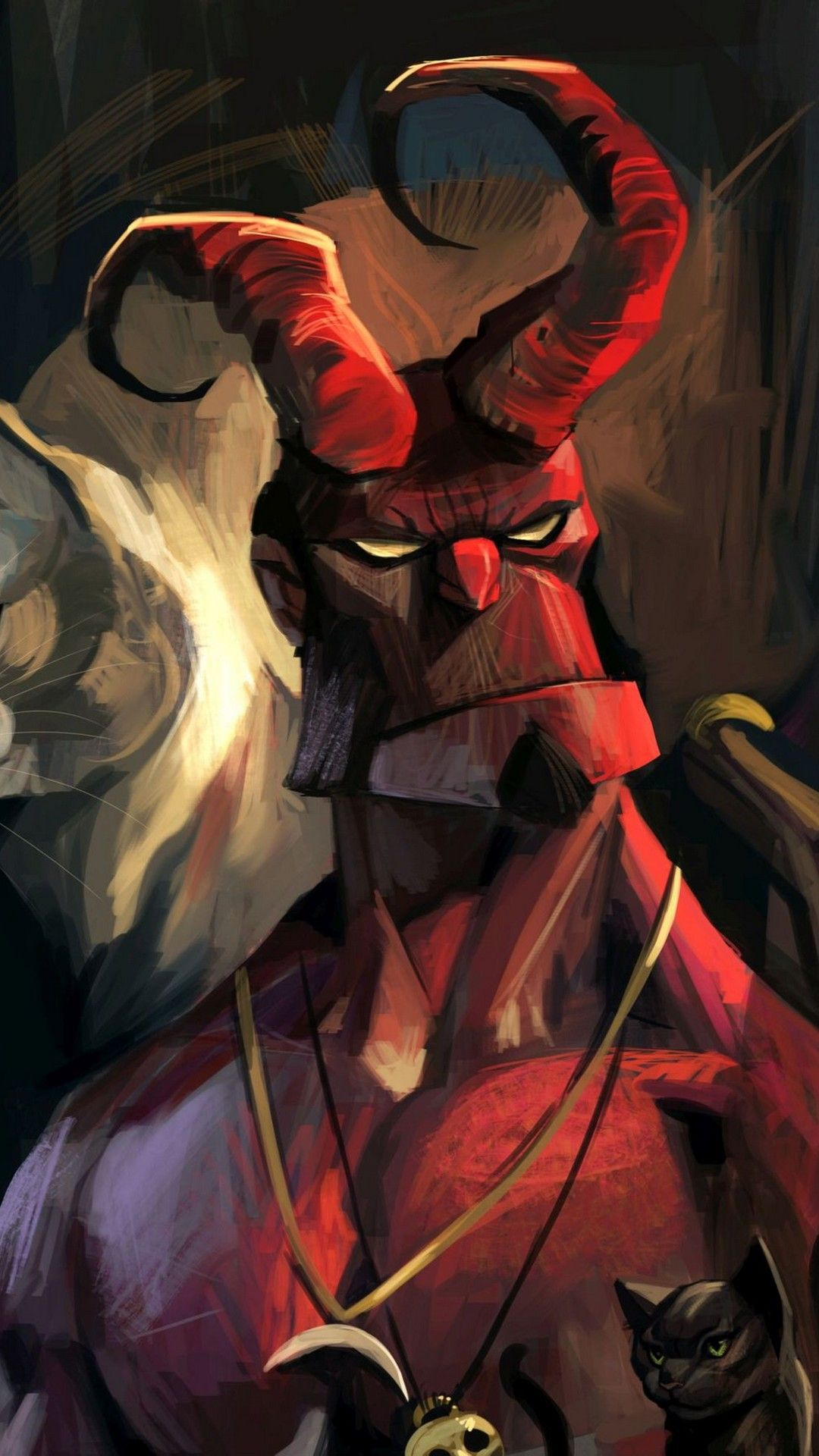 Hellboy Wallpaper For Iphone 2021 Live Wallpaper Hd Hellboy Wallpaper Iphone Wallpaper Phone Wallpaper