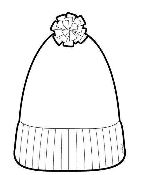 Kışlık Giysiler Boyama Sayfaları Sanat Etkinlikleri Winter Hats