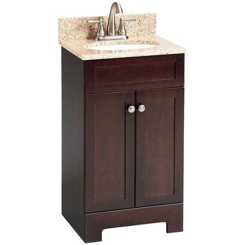 Style Selections Ellenbee 24 5 In Gray Single Sink Bathroom Vanity