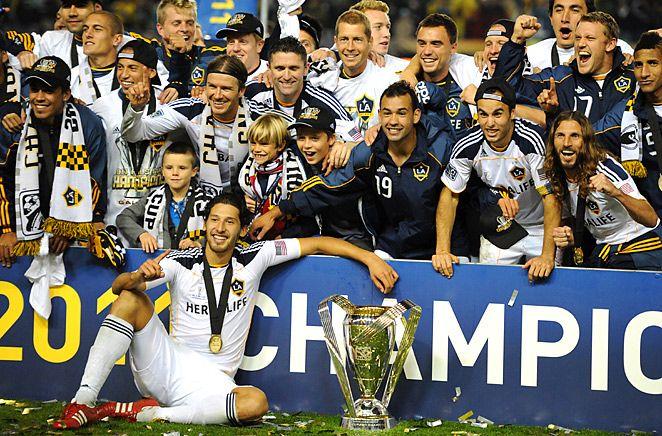 MLS 8x10 Photo LA Galaxy 2011 Team Composite