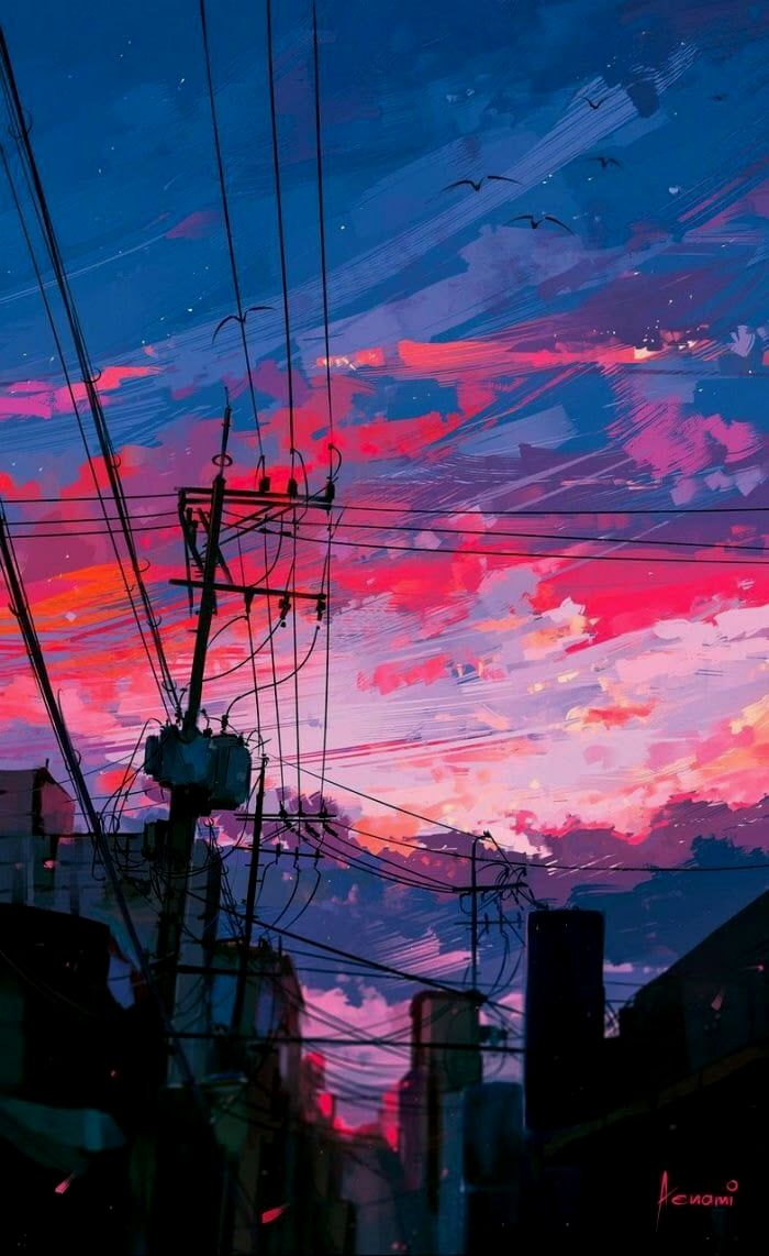 Stay On Our Pinterest Facebook Instagram For More Anime Every Day Search For Animegoodys Animerealisticar In 2020 Anime Scenery Digital Painting Aesthetic Wallpapers