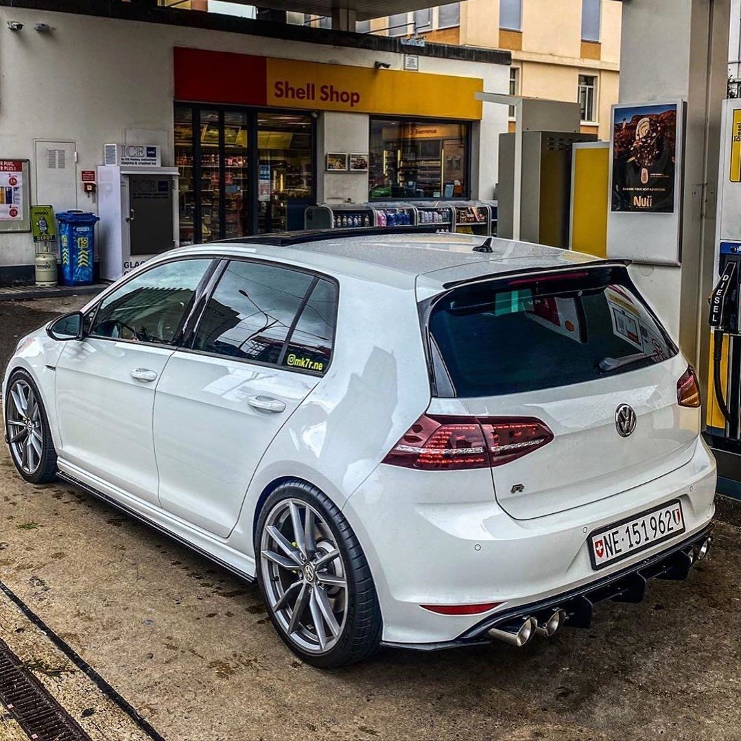 White Golf R Vw Golf R Mk7 Golf Gti Volkswagen Golf Gti