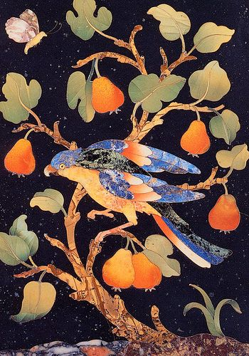 Firenze_Museo Opificio Pietre Dure_uccello #TuscanyAgriturismoGiratola