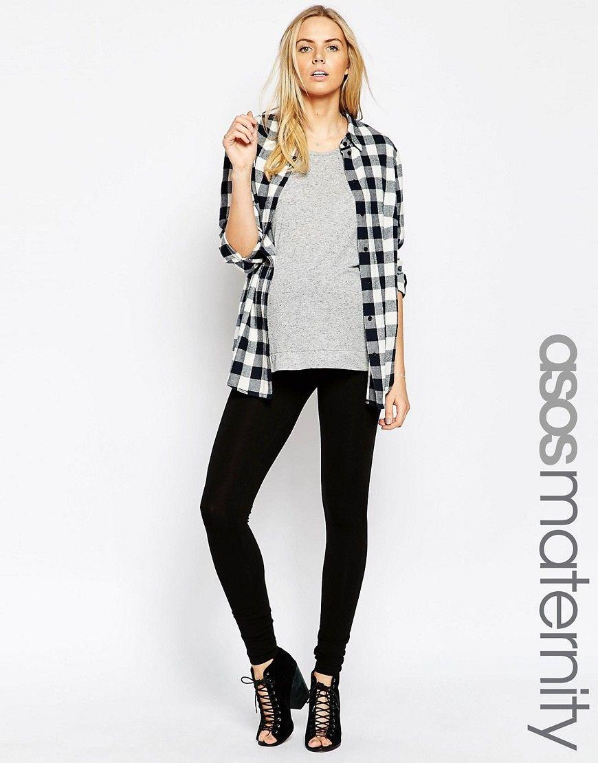 ASOS+Maternity+Full+Length+Soft+Touch+Legging