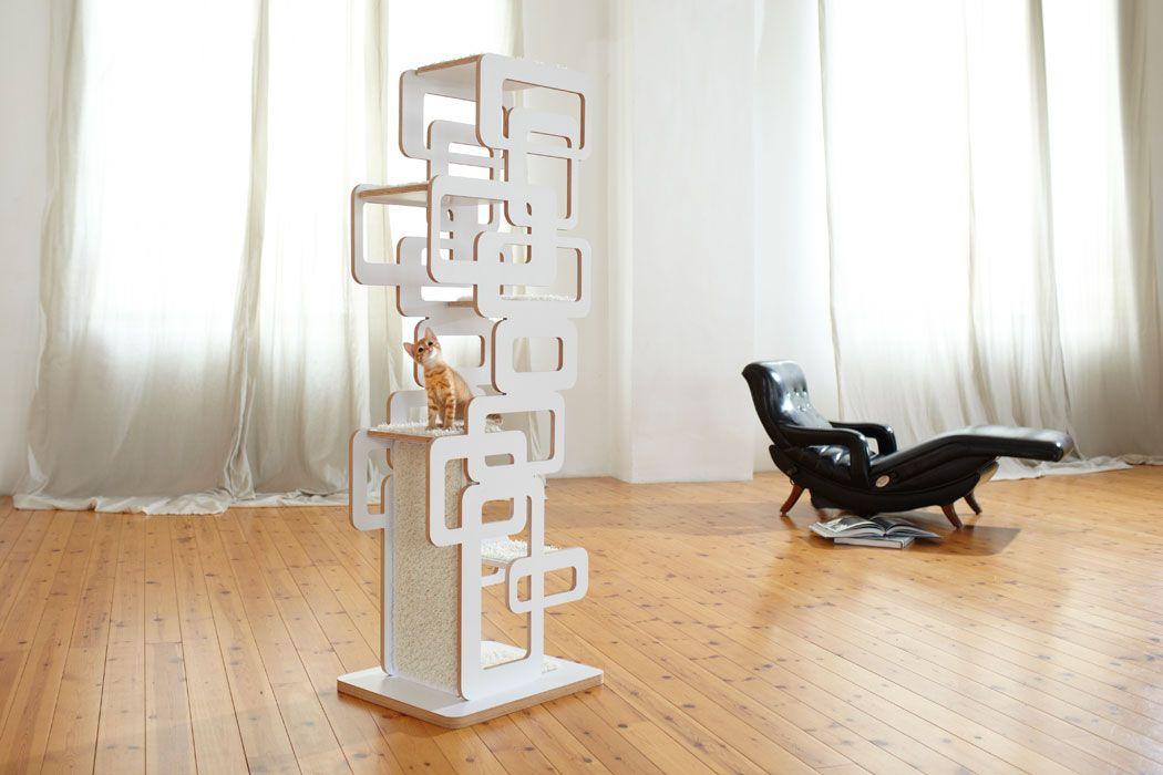 Designer Kratzbäume - Katzenmöbel - Katzen