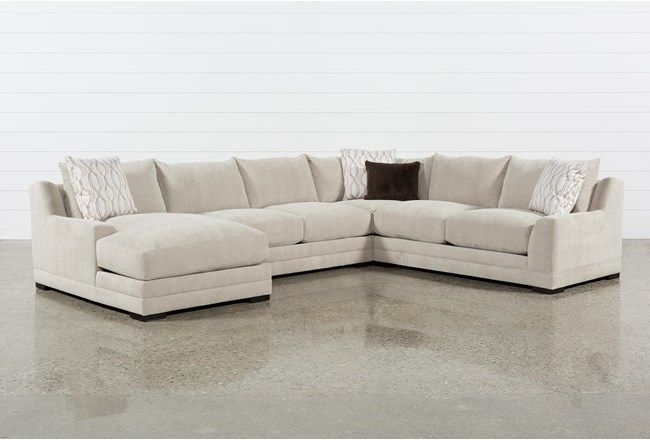 Cool Davis 4 Piece Sectional W Laf Chaise 360 Purkiss Gmtry Best Dining Table And Chair Ideas Images Gmtryco