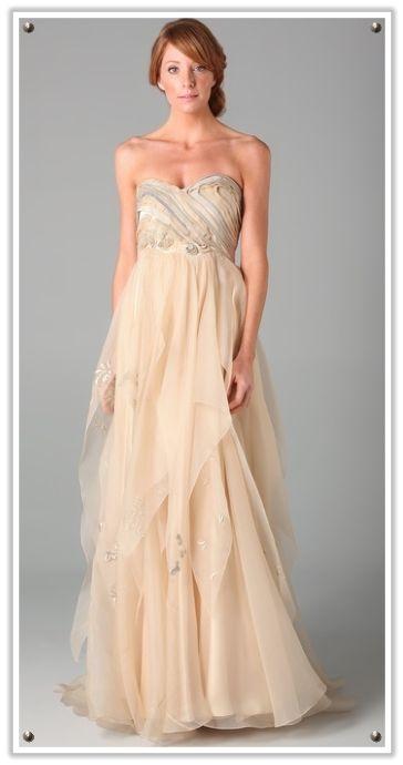 Popular Elfin fairy like wedding dress bride wedding