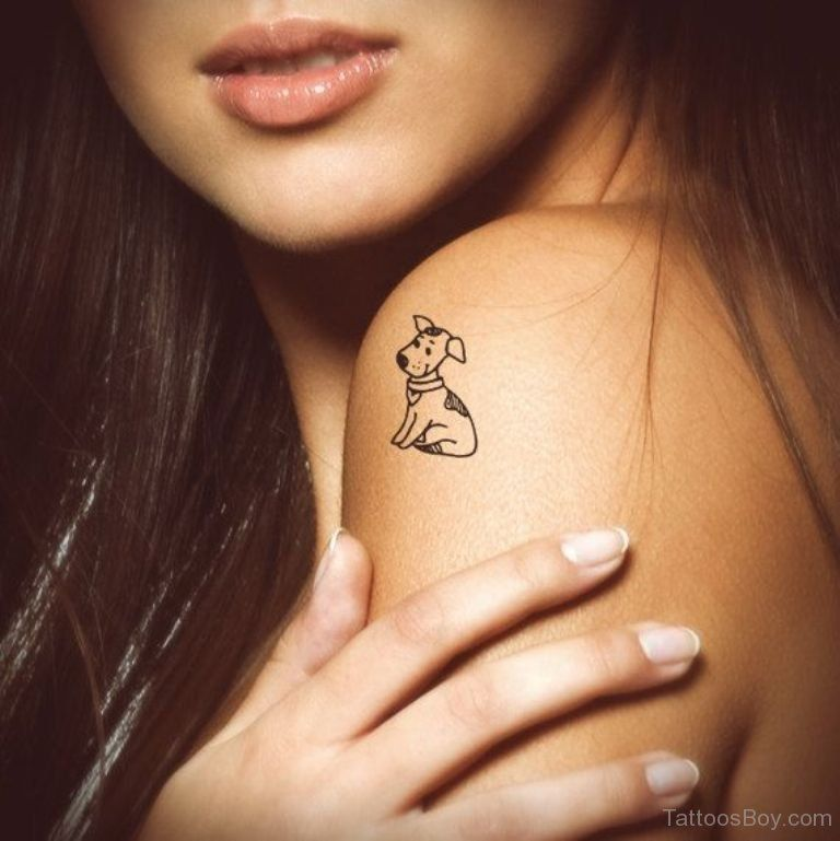 Image Result For Small Dog Tattoos For Women Tattoos Pinterest