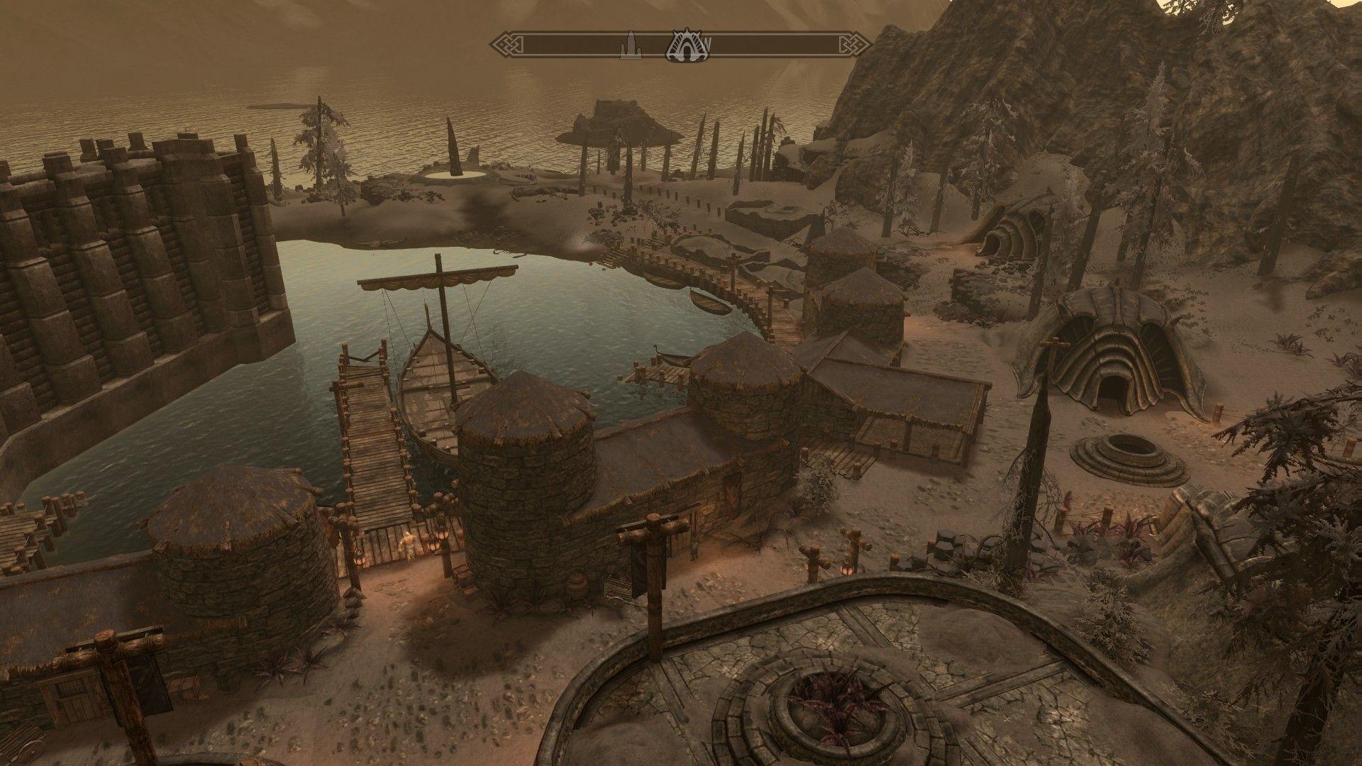 Embla Ysmir Ericsdotter touring Solstheim Morrowind    Elder