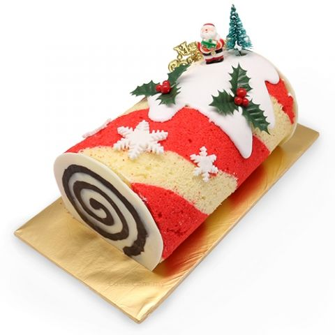 christmas swiss roll cake roll pinterest gateau roul gateau noel y p tisserie. Black Bedroom Furniture Sets. Home Design Ideas