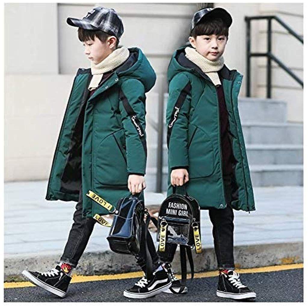 Ragazzi inverno caldo cappotti giacche Bambini Ragazzi