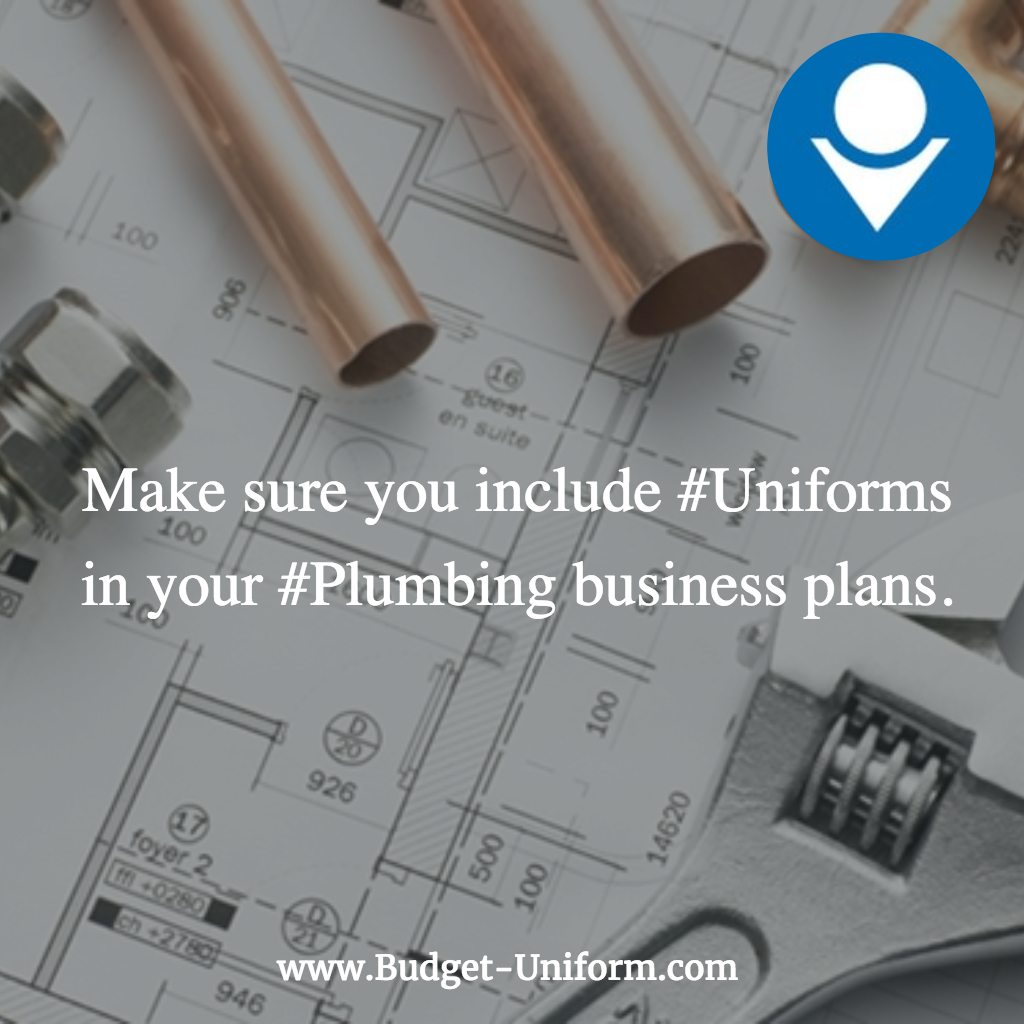 Make sure you include Uniforms in your Plumbing business plans – Plumbing Business Plan Examples