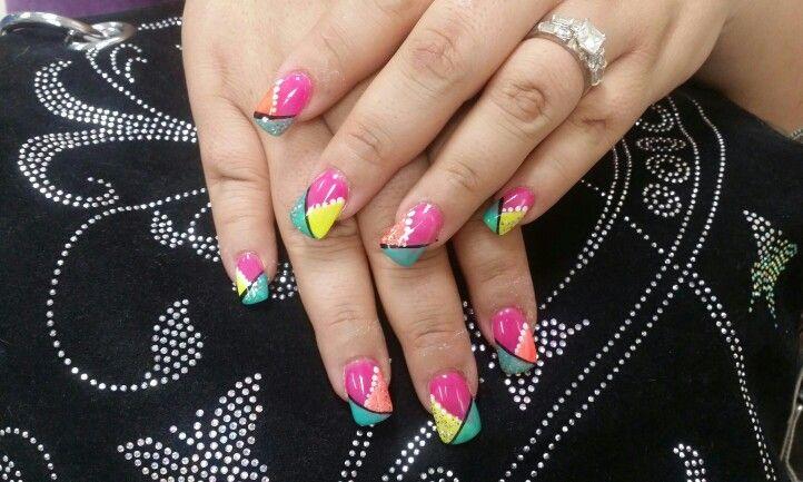 Joe Davi Nails Prescott 928 541 9488 Womens Flip Flop Nails Flop