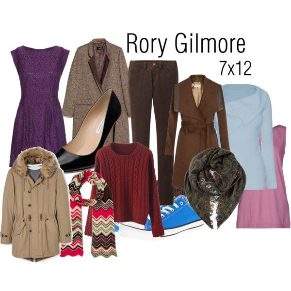 """""""Rory Gilmore 7x12"""" by inpurifyingflame on Polyvore"""