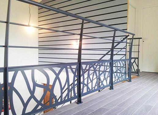 garde corps acier idees garde corps d coupe laser pinterest garde corps acier garde. Black Bedroom Furniture Sets. Home Design Ideas