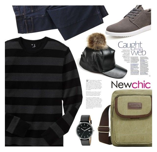 """""""NewChic 26: Rock a bye"""" by bugatti-veyron ❤ liked on Polyvore featuring Gap, TravelSmith, Skagen, men's fashion and menswear"""