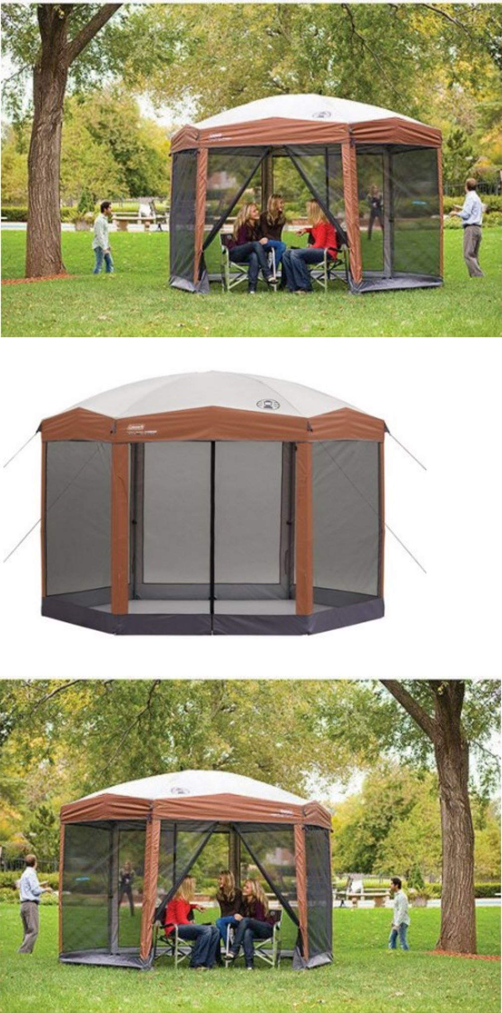 Canopies And Shelters 179011: Screened In Gazebo Canopy House Outdoor  Camping Dining Shelter Tent Coleman