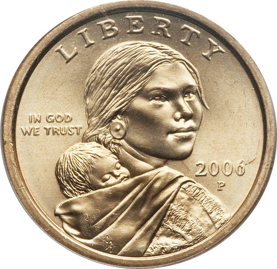2006 P Sacagawea Dollar Value Coin Helpu Sacagawea Dollar Sacagawea Silver Coins Worth