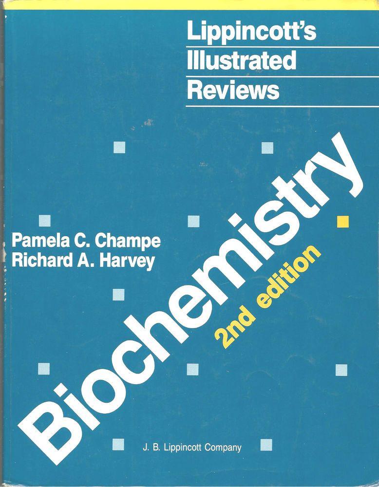 Biochemistry 2nd Edition Illustrated Reviews Medical Nursing 1994