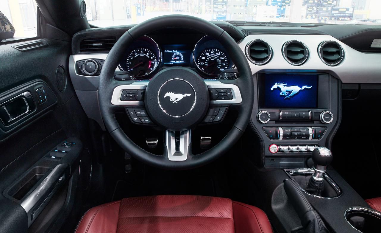 Mustang 2015 Ecoboost Turbo My Interior Is All Black Ford