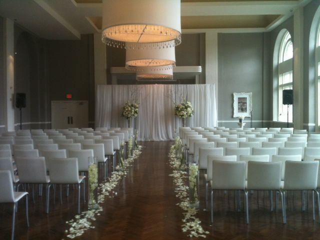 Calhoun Beach Club Weddings Solarium Wedding