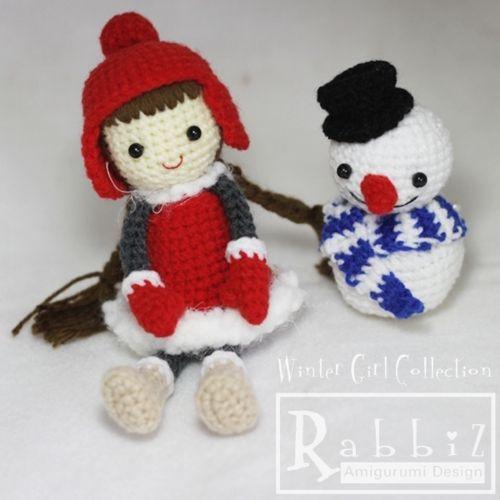 Amigurumi Winter Collection by Rabbiz Design