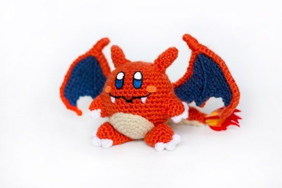 Crochet Kirby Pokemon made by PersnicketyPrecision