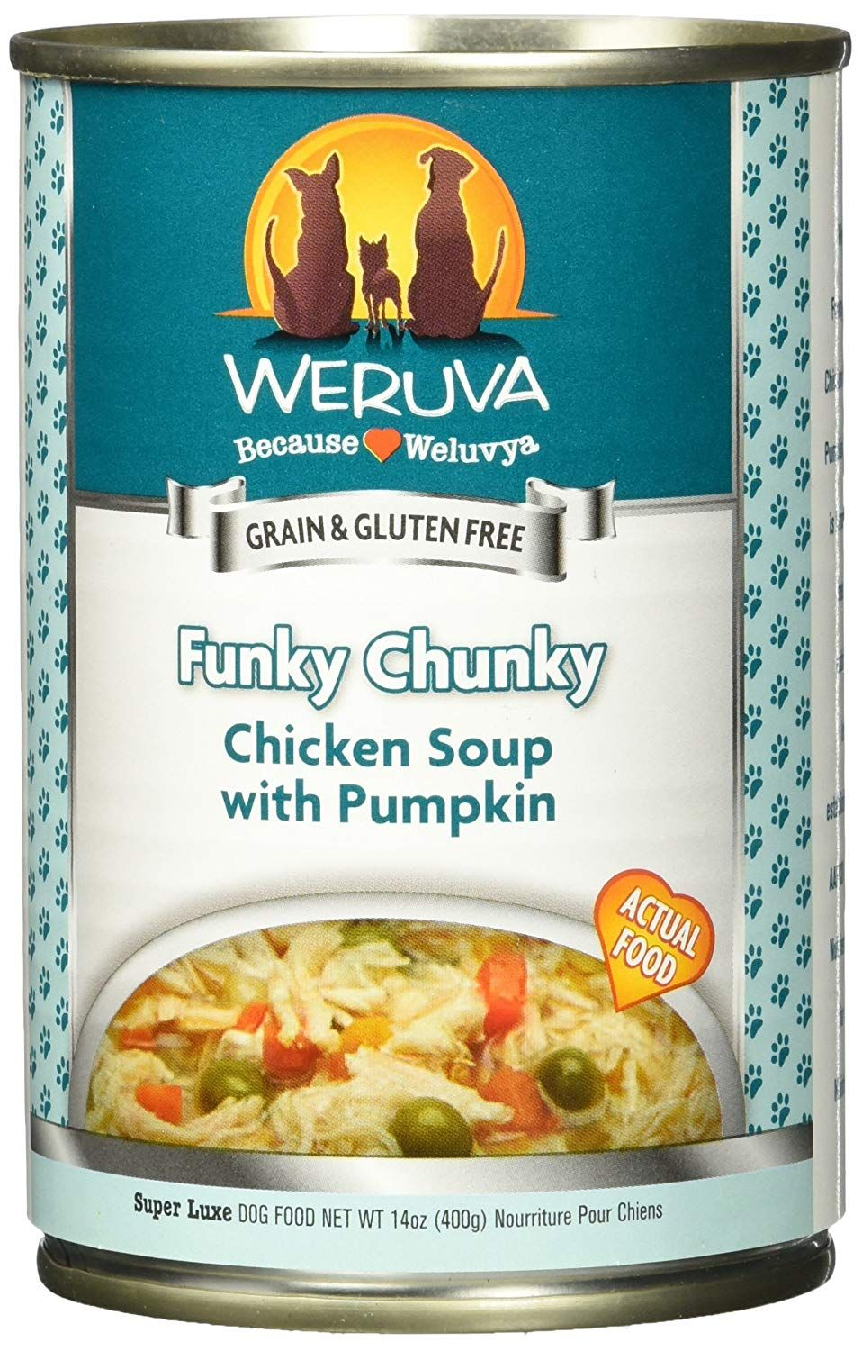 Weruva Funky Chunky Canned Dog Food Case 14oz Thanks A Lot For Viewing Our Photo This Is An Affiliate Link Dog Food Recipes Canned Dog Food Best Dog Food