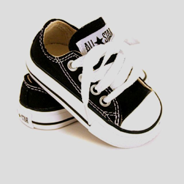 Infant chucks. | Boy shoes, Baby shoes, Baby boy shoes